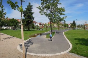 Park Malinová – Chrpová, Praga 10