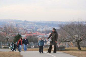 Park Parukářka, Praga 3